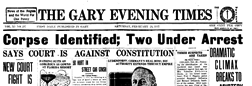 Gary Evening Times newspaper archives