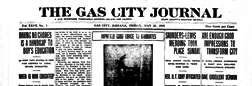 Gas City Journal newspaper archives