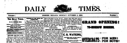 Goshen Daily Times newspaper archives