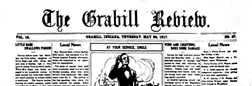 Grabill Review newspaper archives
