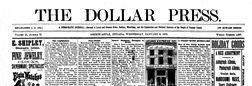 Greencastle Dollar Press newspaper archives