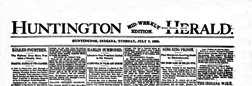 Huntington Mid Weekly Herald newspaper archives