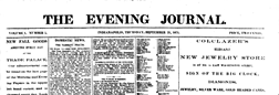Indianapolis Evening Journal newspaper archives
