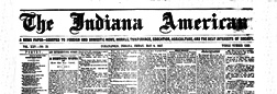 Indianapolis Indiana American newspaper archives