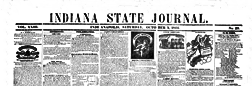 Indianapolis Indiana State Journal newspaper archives