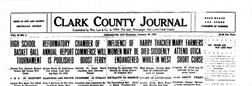 Jeffersonville Clark County Journal newspaper archives