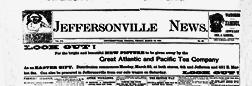 Jeffersonville News newspaper archives