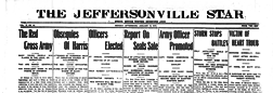 Jeffersonville Star newspaper archives