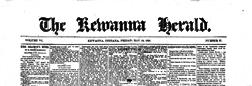 Kewanna Herald newspaper archives