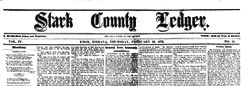 Knox Stark County Ledger newspaper archives