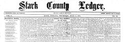 Knox Starke County Ledger newspaper archives
