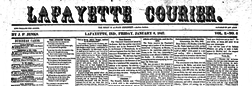 Lafayette Courier newspaper archives