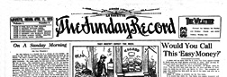 Lafayette Sunday Record newspaper archives