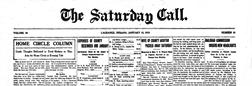 Lagrange Saturday Call newspaper archives