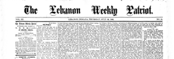 Lebanon Weekly Patriot newspaper archives