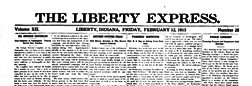Liberty Express newspaper archives