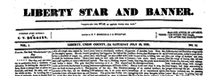 Liberty Star And Banner newspaper archives