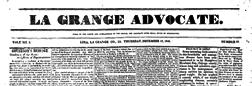 Lima La Grange Advocate newspaper archives