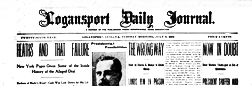 Logansport Daily Journal newspaper archives