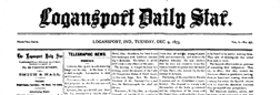 Logansport Daily Star newspaper archives