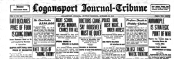 Logansport Journal Tribune newspaper archives