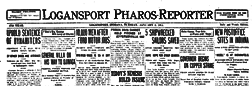 Logansport Pharos Reporter newspaper archives