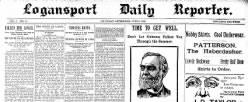 Logansport Reporter newspaper archives