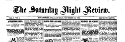 Logansport Saturday Night Review newspaper archives