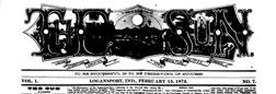 Logansport Sun newspaper archives