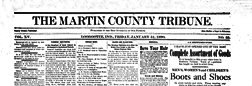 Loogootee Martin County Tribune newspaper archives