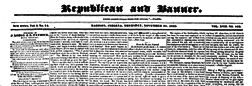 Madison Republican And Banner newspaper archives
