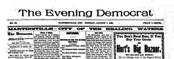 Martinsville Evening Democrat newspaper archives