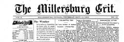 Millersburg Grit newspaper archives