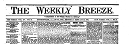 Monroeville Weekly Breeze newspaper archives
