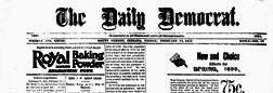 Mount Vernon Daily Democrat newspaper archives