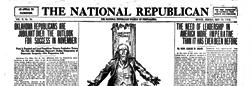 Muncie National Republican newspaper archives