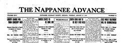 Nappanee Advance newspaper archives