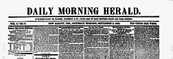 New Albany Daily Morning Herald newspaper archives