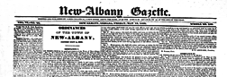 New Albany Gazette newspaper archives