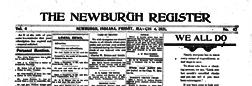 Newburgh Register newspaper archives