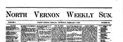 North Vernon Weekly Sun newspaper archives