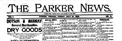 Parker News newspaper archives