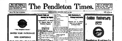 Pendleton Times newspaper archives