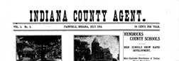 Indiana County Agent newspaper archives