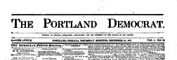 Portland Democrat newspaper archives