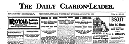 Princeton Daily Clarion Leader newspaper archives
