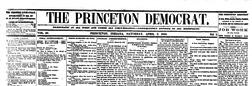 Princeton Democrat newspaper archives
