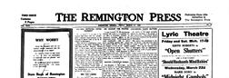 Remington Press newspaper archives
