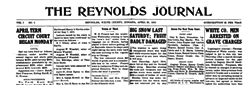 Reynolds Journal newspaper archives