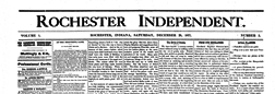 Rochester Independent newspaper archives
